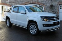 USED 2015 15 VOLKSWAGEN AMAROK 2.0 DC TDI HIGHLINE 4MOTION 1d 178 BHP HARD TOP CANOPY - FULL LEATHER