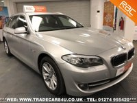 USED 2011 11 BMW 5 SERIES  520D SE TOURING DIESEL AUTO ESTATE UK DELIVERY* RAC APPROVED* FINANCE ARRANGED* PART EX