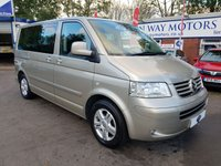 USED 2008 58 VOLKSWAGEN CARAVELLE 2.5 EXECUTIVE TDI 5d AUTO 129 BHP 0%  FINANCE AVAILABLE ON THIS CAR PLEASE CALL 01204 317705