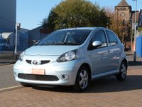 USED 2006 55 TOYOTA AYGO 1.0 SPORT VVT-I 5d  FULL TOYOTA HISTORY ~ £20 TAX ~ FANTASTIC LOW MILES ~ LOW INSURANCE ~ ICE BLUE METALIC ~ IDEAL FIRST CAR
