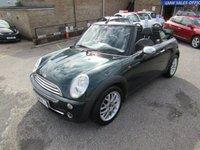 2007 MINI CONVERTIBLE 1.6 COOPER 2d 114 BHP £2995.00