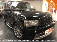USED 2008 58 LAND ROVER RANGE ROVER SPORT 3.6 TDV8 HST UK DELIVERY* RAC APPROVED* FINANCE ARRANGED* PART EX