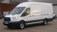 2014 FORD TRANSIT 2.2 350 H/R P/V 1d 124 BHP JUMBO 1 OWNER F/S/H 7 STAMPS IN THE BOOK   FREE 12 MONTHS WARRANTY COVER   £7390.00