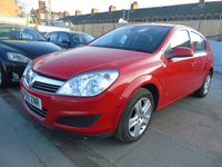 2009 VAUXHALL ASTRA 1.4 ACTIVE FULL SERVICE AA ASURED  £1895.00