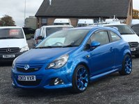 USED 2013 13 VAUXHALL CORSA 1.6 VXR 3d 190 BHP AC, FDSH,BI XENONS, LEATHER,CRUISE, EXCELLENT CONDITION