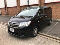 2013 NISSAN SERENA 2.0 HYBRID PURE DRIVE CVT 8 SEATS £14500.00