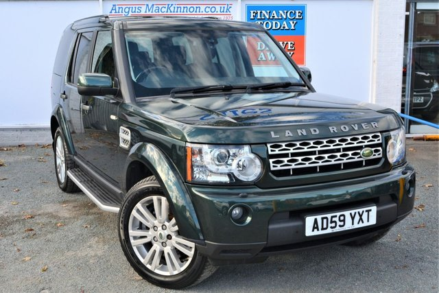 2010 59 LAND ROVER DISCOVERY 4 3.0 TDV6 HSE 4x4 AUTO High Spec 7 Seat 5dr Family SUV