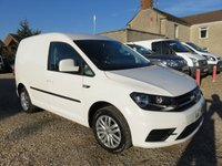 USED 2017 17 VOLKSWAGEN CADDY 2.0 C20 TDI TRENDLINE 150 BHP 25571 MILES AIR CON CRUISE 1 OWNER EURO 6