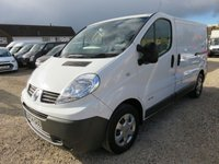 2014 RENAULT TRAFIC 2.0 SL29 DCI SWB 115 BHP WITH TAILGATE AIR CON 44182 MILES £8950.00