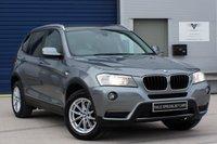 USED 2013 63 BMW X3 2.0 XDRIVE20D SE AUTO 181 BHP (SAT NAV)