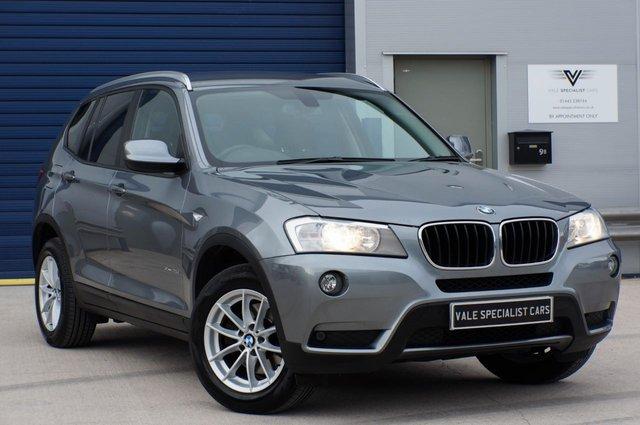 2013 63 BMW X3 2.0 XDRIVE20D SE AUTO 181 BHP (SAT NAV)