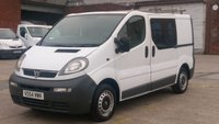 2004 VAUXHALL VIVARO 1.9 DI 2700 SWB 1d 80 BHP 6 SEATER CREW VAN PART X MOT 6/2019 OLD PART X VAN NO VAT  £1190.00