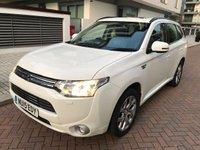 2015 MITSUBISHI OUTLANDER 2.0 PHEV GX 4H 5d AUTO 162 BHP £SOLD
