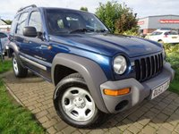 USED 2002 52 JEEP CHEROKEE 2.4 SPORT 5d 145 BHP **Bargain 4x4 One Of The Cheapest Nationwide 12 Months Mot**
