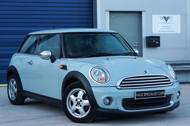 2011 11 MINI HATCH ONE 1.6 ONE (PEPPER PACK)
