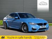 2016 BMW M3 3.0 M3 4d AUTO 426 BHP £39995.00