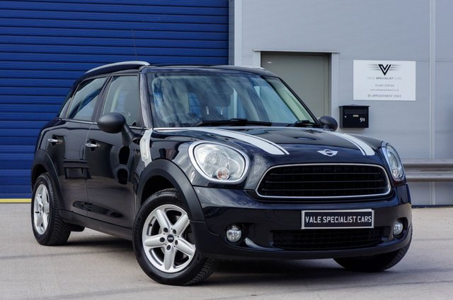 2012 12 MINI COUNTRYMAN 1.6 ONE 5d 98 BHP (PEPPER PACK)