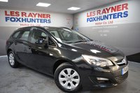 USED 2015 15 VAUXHALL ASTRA 1.6 DESIGN CDTI ECOFLEX S/S 5d 108 BHP Free Road Tax, Great MPG, Bluetooth, Cruise control