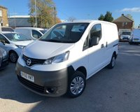 USED 2016 66 NISSAN NV200 1.5 DCI ACENTA 1d 90 BHP STILL UNDER MANUFACTURES WARRANTY.