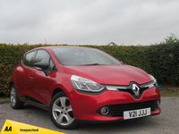 USED 2013 63 RENAULT CLIO 1.1 DYNAMIQUE MEDIANAV 5d FULL SERVICE HISTORY * 12 MONTHS MOT * SATELLITE NAVIGATION * BLUETOOTH