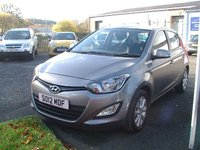 USED 2012 12 HYUNDAI I20 1.2 ACTIVE 5d 84 BHP BLUETOOTH!!