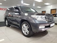 USED 2008 08 TOYOTA LAND CRUISER 4.5 V8 D-4D 5d AUTO+FULL TOYOTA SERVICE HISTORY+7 SEATS+MASSIVE SPEC