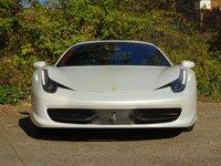 USED 2012 FERRARI 458 4.5 ITALIA DCT 2d AUTO 570 BHP