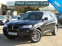 USED 2013 13 BMW X3 2.0 XDRIVE20D SE 5d 181 BHP Practical Family SUV