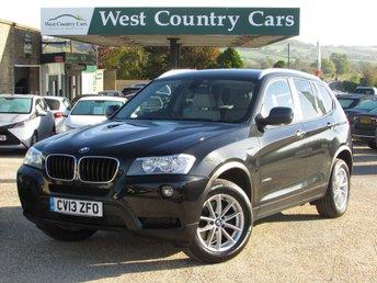 2013 BMW X3 2.0 XDRIVE20D SE 5d 181 BHP £14500.00