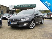 USED 2015 15 VOLVO S80 2.0 D4 SE LUX 4d 178 BHP Rare High Spec Executive Saloon