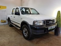 2006 FORD RANGER 2.5 DOUBLE CAB4X4 TD 1d 107 BHP £3490.00