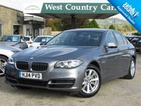 USED 2014 14 BMW 5 SERIES 2.0 520D SE 4d AUTO 181 BHP Well Equipped Executive Saloon