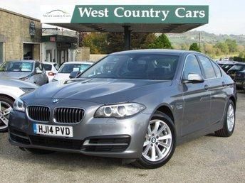 2014 BMW 5 SERIES 2.0 520D SE 4d AUTO 181 BHP £12000.00
