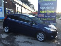 2012 FORD FIESTA 1.6 TITANIUM ECONETIC TDCI 5d 94 BHP, only 48000 miles, 2 Owners £6495.00