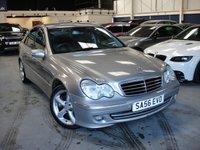 2006 MERCEDES-BENZ C CLASS 2.1 C220 CDI AVANTGARDE SE 4d AUTO 148 BHP £2495.00