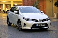 USED 2013 13 TOYOTA AURIS 1.8 EXCEL VVT-I 5d AUTO 99 BHP