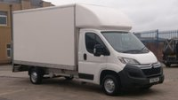 2016 CITROEN RELAY 2.2 35 L3 HDI 1d 129 BHP LWB LUTON WITH TAIL / LIFT SERVICE PRINT OUT FREE 12 MONTHS WARRANTY COVER  £7999.00