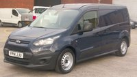 2014 FORD TRANSIT CONNECT 1.6 210 P/V 1d 94 BHP LWB 6 DOOR F/S/H AIR CON FREE 12 MONTHS WARRANTY COVER