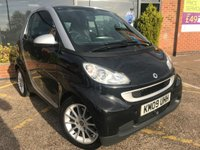 2009 SMART FORTWO 1.0 PASSION MHD 2d AUTO 71 BHP £2995.00