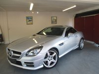 2014 MERCEDES-BENZ SLK 2.1 SLK250 CDI BLUEEFFICIENCY AMG SPORT 2d AUTO 204 BHP £13995.00