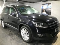 USED 2015 65 VOLKSWAGEN TIGUAN 2.0 MATCH EDITION TDI BMT 5d 148 BHP Bluetooth :  Sat Nav :  DAB Radio :  Cloth upholstery :  VW Park Assist (self parking system) : Front and rear parking sensors  :  Full service history