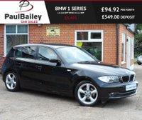 USED 2009 09 BMW 1 SERIES 1.6 116I EDITION ES 5d 121 BHP