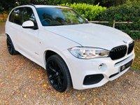 USED 2016 66 BMW X5 3.0 XDRIVE40D M SPORT 5d AUTO 309 BHP
