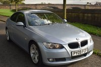 USED 2009 09 BMW 3 SERIES 2.0 320D SE HIGHLINE 2d 175 BHP WELL MAINTAINED, HEATED LEATHER, BLUETOOTH, TINTED GLASS, CRUISE CONTROL, 6 SPEED MANUAL