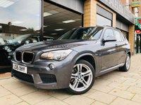 2015 BMW X1 2.0 SDRIVE18D M SPORT 5d AUTO 141 BHP £16795.00