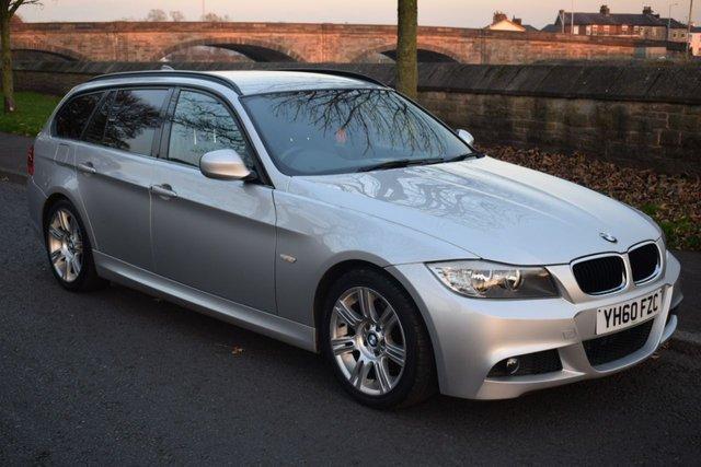 2010 60 BMW 3 SERIES 2.0 320D M SPORT TOURING 5d AUTO 181 BHP