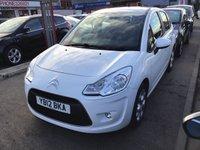 2012 CITROEN C3 1.4 WHITE 5d 72 BHP £4595.00