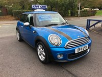2011 MINI HATCH ONE 1.6 ONE D PIMLICO 3d 89 BHP £4795.00
