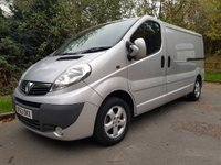 USED 2013 63 VAUXHALL VIVARO 2.0 2900 CDTI SPORTIVE LWB 5d 115 BHP AIR CON ELECTRIC WINDOWS & MIRRORS EXCELLENT CONDITION INSIDE & OUT RACKING IN REAR (Can be removed if no use for it) NATIONWIDE DELIVERY