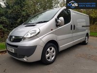 2013 VAUXHALL VIVARO 2.0 2900 CDTI SPORTIVE LWB 5d 115 BHP AIR CON ELECTRIC WINDOWS & MIRRORS £SOLD